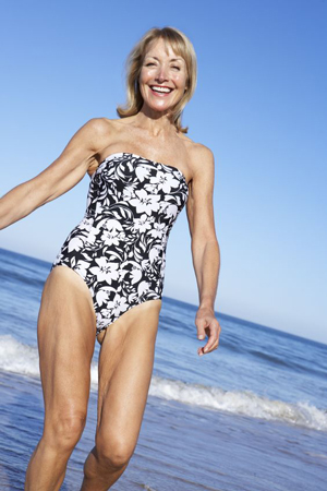 Beach walking is great for fat loss, supple skin, and toned legs.