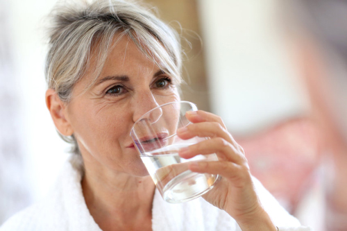 Women over 40 need to drink about 3 liters of water, per day, to optimize brain health.