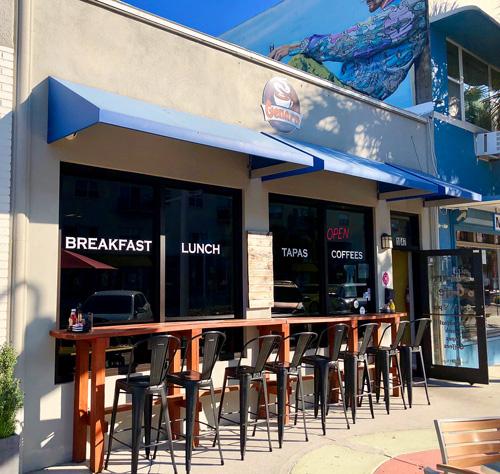 Genaro Coffee Shop is a regular stop for Florida snowbirds in downtown St Pete.
