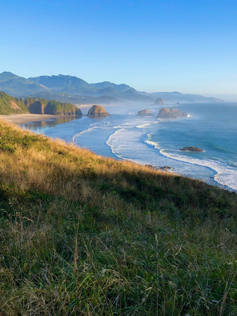 Ecola State Park in Cannon Beach Oregon provides great photography opportunities.