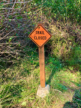 Some trails are closed in Ecola State Park.