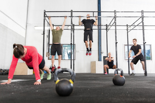 Exercise and confidence are two benefits of Crossfit workouts.