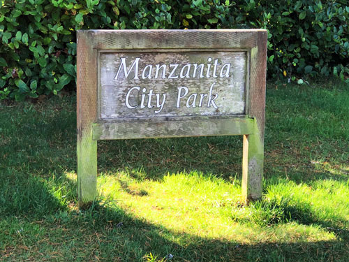 Manzanita City Park is a perfect place to revitalize your spirit. Manzanita Oregon.