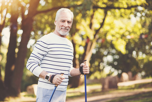 Men can manage Type 2 diabetes naturally by getting regular daily exercise.