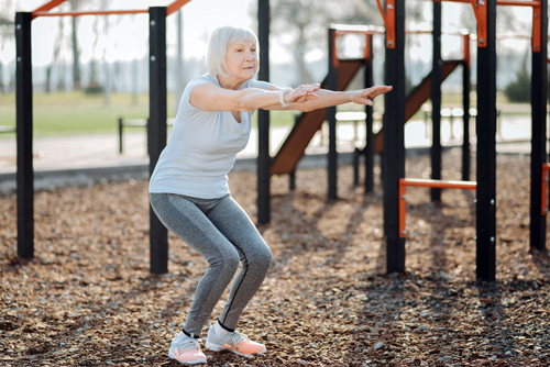 Morning Walk Tips: You are not too old to benefit from strengthening exercises during your morning walk.