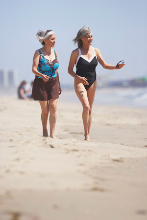 Eating natural foods will elevate your positive experiences with morning walks.