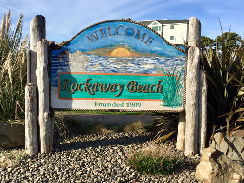 Rockaway Beach is a little piece of paradise on the Oregon Coast.