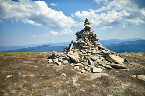 Stacking stones causes problems when people take it to an extreme.