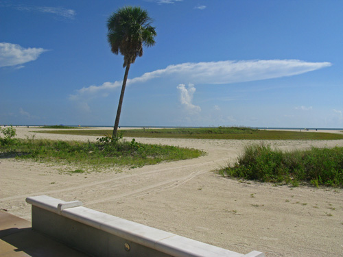 One of the nice views from the Treasure Island Beach Trail on a peaceful morning.