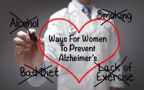 There are critical ways for women to prevent Alzheimer's disease, starting in their 30's and 40's.