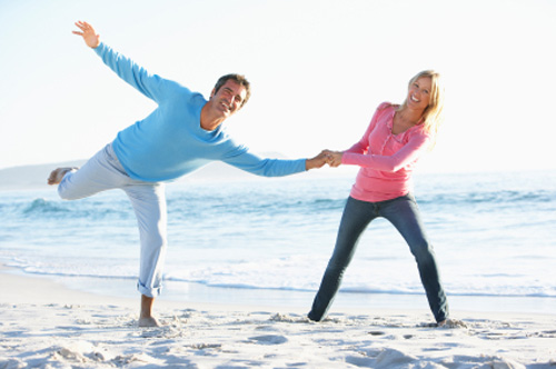 Walking on the beach can help you lose belly fat and improve your immune system.