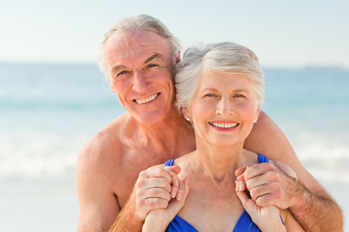 The beach has a variety of health benefits.
